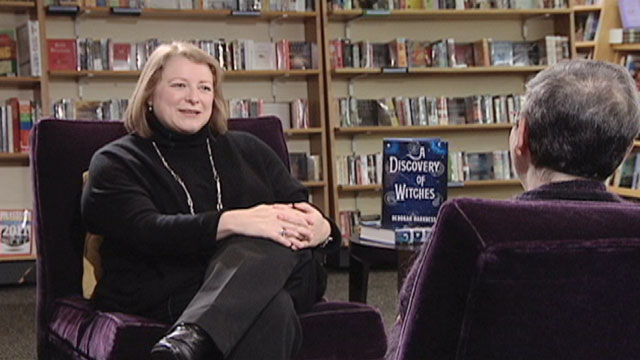 Book Lust with Nancy Pearl featuring Deborah Harkness