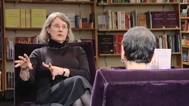 Book Lust with Nancy Pearl featuring Lorraine McConaghy