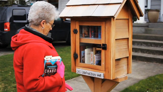 CityStream: Little Free Libraries