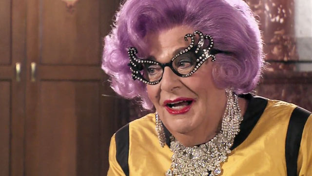 Art Zone Extra: Dame Edna, Uncut