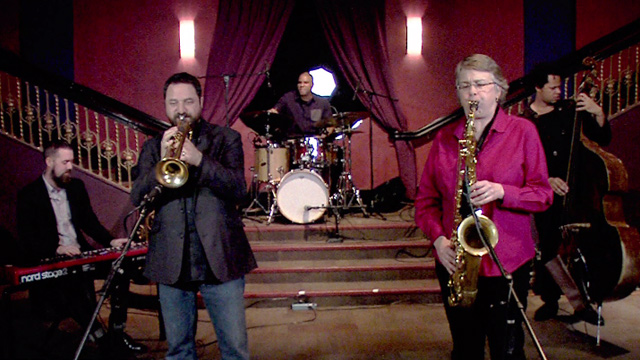 Art Zone: Jason Parker Quartet perform 'Little Frances'