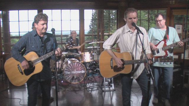 Art Zone: The Halyards perform 'He's Walking By'