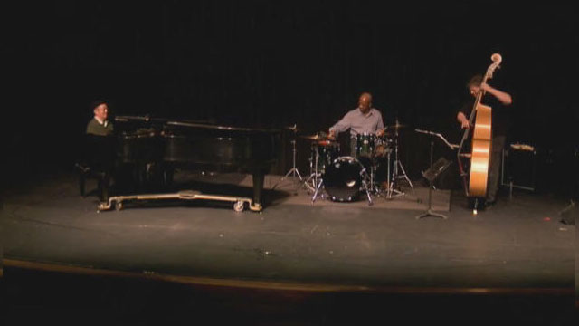 Front Row: Deems Trio Live