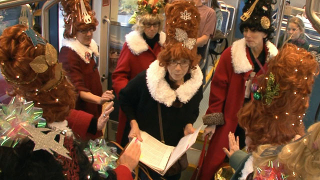CityStream: Figgy Pudding Caroling Competition