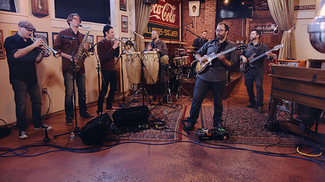 Art Zone: The Polyrhythmics perform 'Fairweather Fiends'