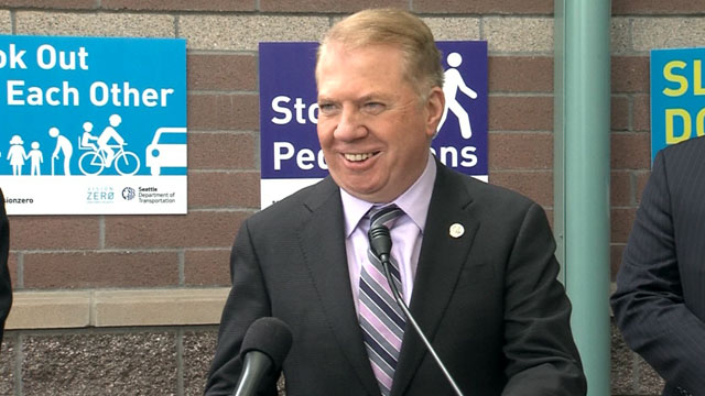 Mayor Murray on Vision Zero and the Pedestrian Master Plan
