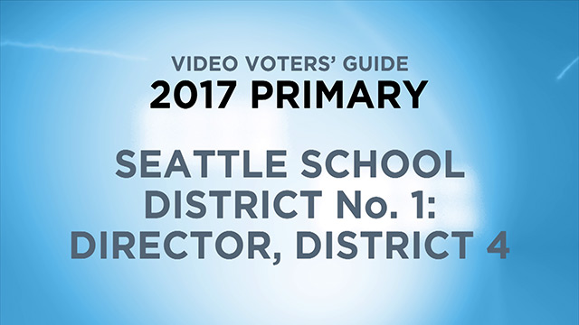 Seattle School District 1, Director District 4