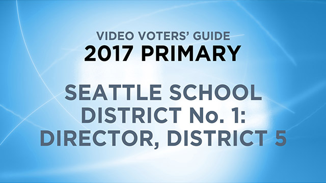 Seattle School District 1, Director District 5
