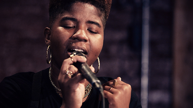 Art Zone: Sassy Black performs 'Glitches'