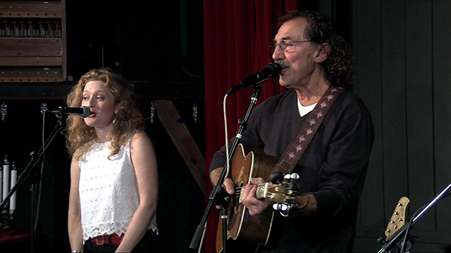 Front Row: Freebo and Alice Howe at Kenyon Hall