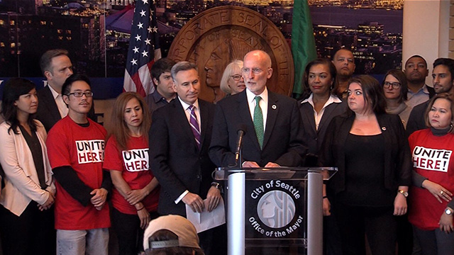 Mayor, community, Convention Center & partners announce agreement
