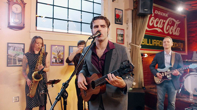 Art Zone: Birch Pereira & The Gin Joints Perform 'How Long (Until I See the Sun Again)'