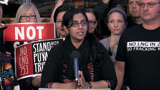 Councilmember Sawant speaks to Puget Sound Energy project