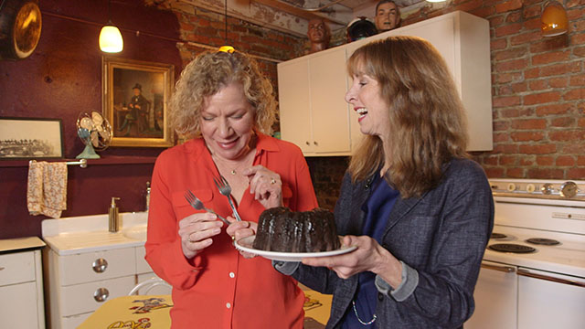 Art Zone:Actor Anne Allgood takes on Julia Child