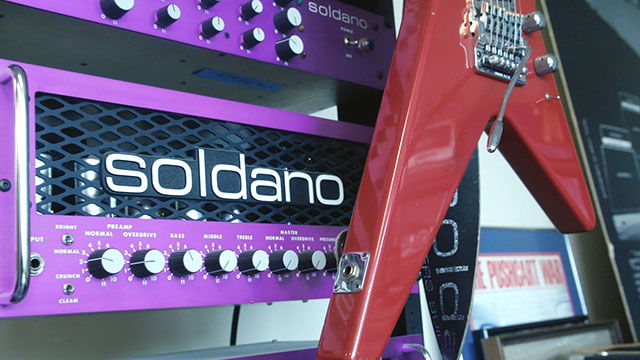 Custom guitar amp designer & craftsman Mike Soldano