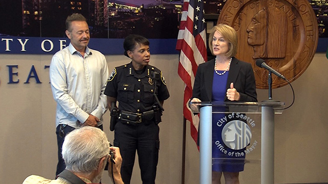 Mayor Durkan names next Chief of the Seattle Police Department