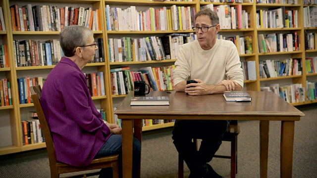 Book Lust with Nancy Pearl featuring Leif Enger