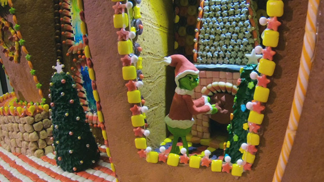 Sheraton Hotel serves up a sweet & surprising Gingerbread Village