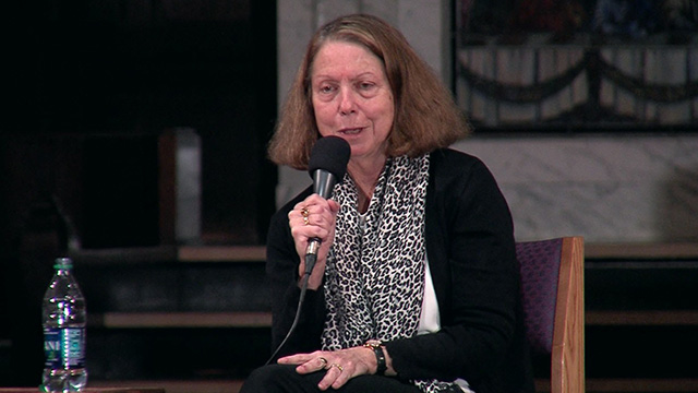 "American Podium: Jill Abramson discusses ""Merchants of Truth"""