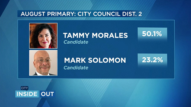 City Inside/Out Local Issues: Election 2019 - City Council Dist. 2 Race