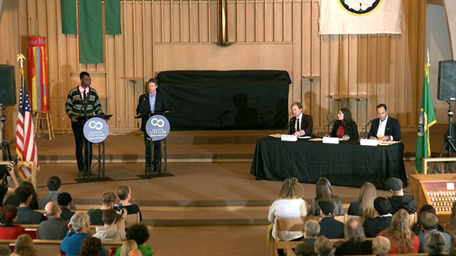Seattle City Council District 4 Debate with Shaun Scott & Alex Pedersen