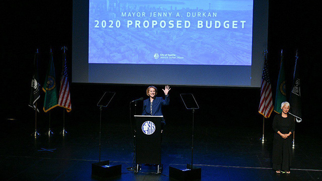 Mayor Durkan delivers her 2020 proposed budget address