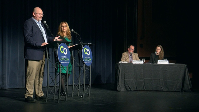 Seattle City Council District 1 Debate with Lisa Herbold and Phil Tavel