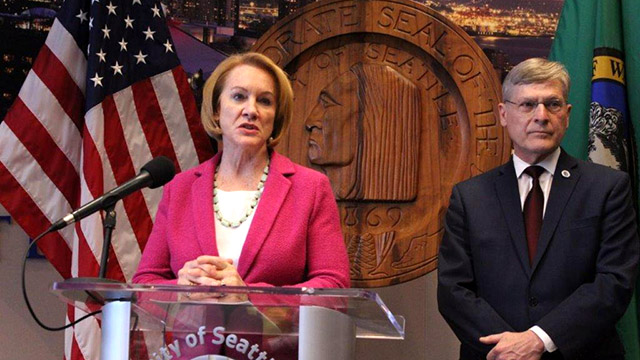 Mayor Durkan, City Attorney Pete Holmes outline next steps on I-976