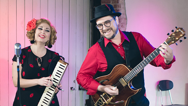 "Sundae + Mr. Goessl performs ""Darlene"""