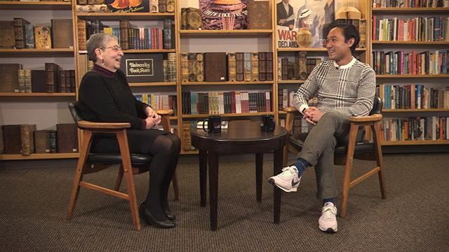 Book Lust with Nancy Pearl featuring Paul Yoon