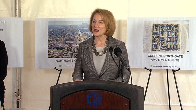 City, affordable housing partners announce new Northgate project