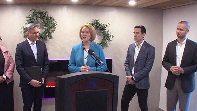 Mayor, County Executive unveil tool to connect homeless with housing