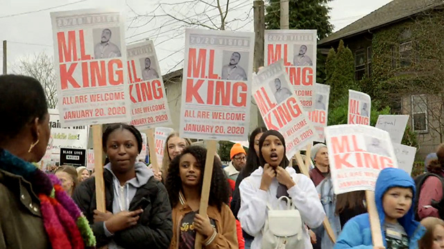 Seattle's MLK Day 2020 tribute, rally and march