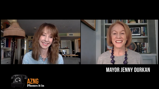 Art Zone Phones It In: Interview with Mayor Durkan