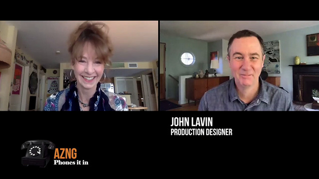 Art Zone phones it in with production designer John Lavin