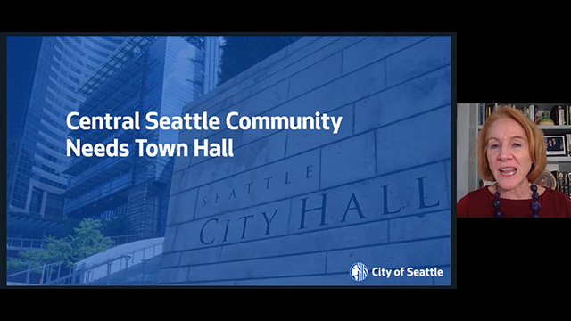 Central Seattle Virtual Community Town Hall