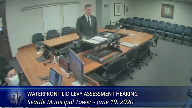 Waterfront LID Levy Assessment Hearing - City's Morning Presentation 6/19/20