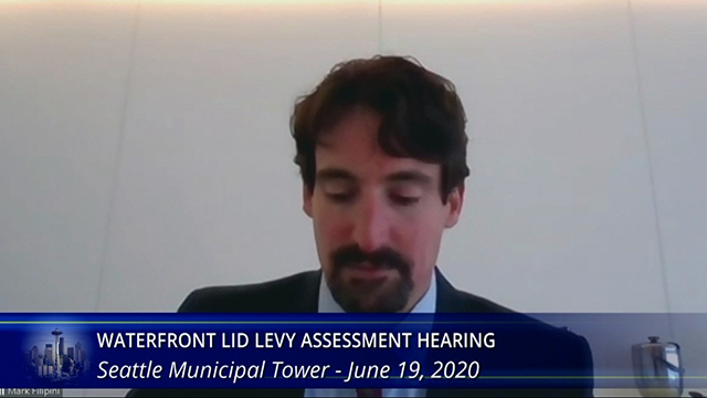 Waterfront LID Levy Assessment Hearing - City's Afternoon Presentation 6/19/20
