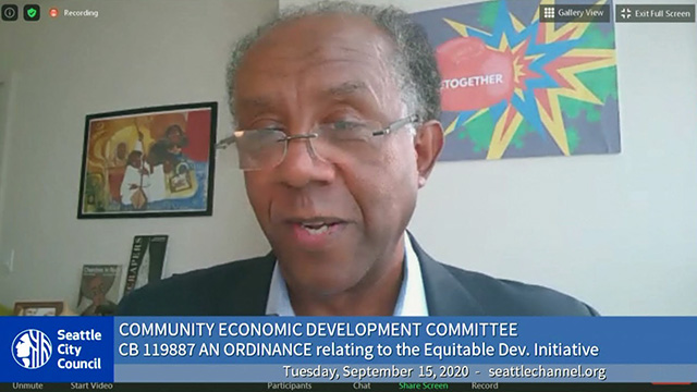 Community Economic Development Committee 9/15/20