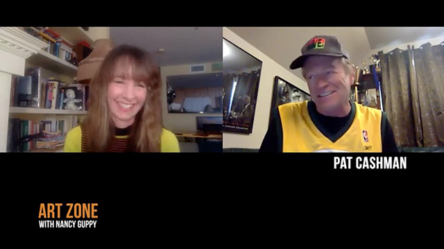 "Art Zone Phones It In with ""Almost Live!"" alum Pat Cashman"