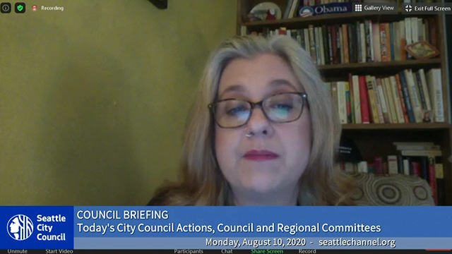 Council Briefing 8/10/20