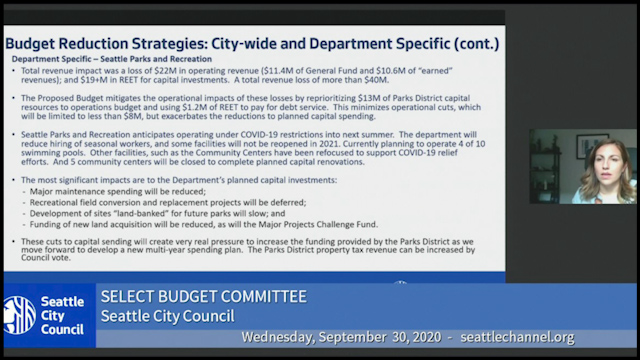 Select Budget Committee Session II 9/30/20