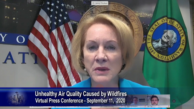City, County leaders discuss preparations for unhealthy air quality caused by wildfires