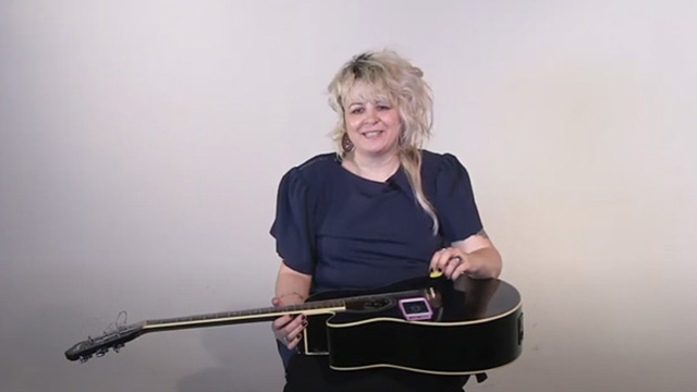 Tuning a Guitar with Kelli Frances Corrado