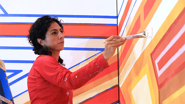 Marela Zacarias' art takes centerstage in South Lake Union