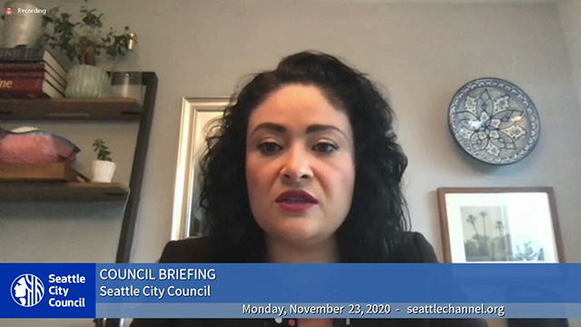 Council Briefing 11/23/20