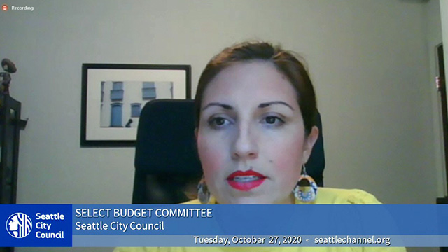 Select Budget Committee Public Hearing 10/27/20