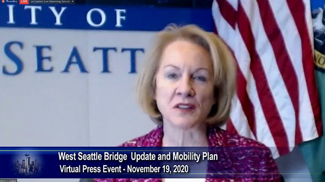 Mayor Durkan announces decision to pursue repair of West Seattle Bridge
