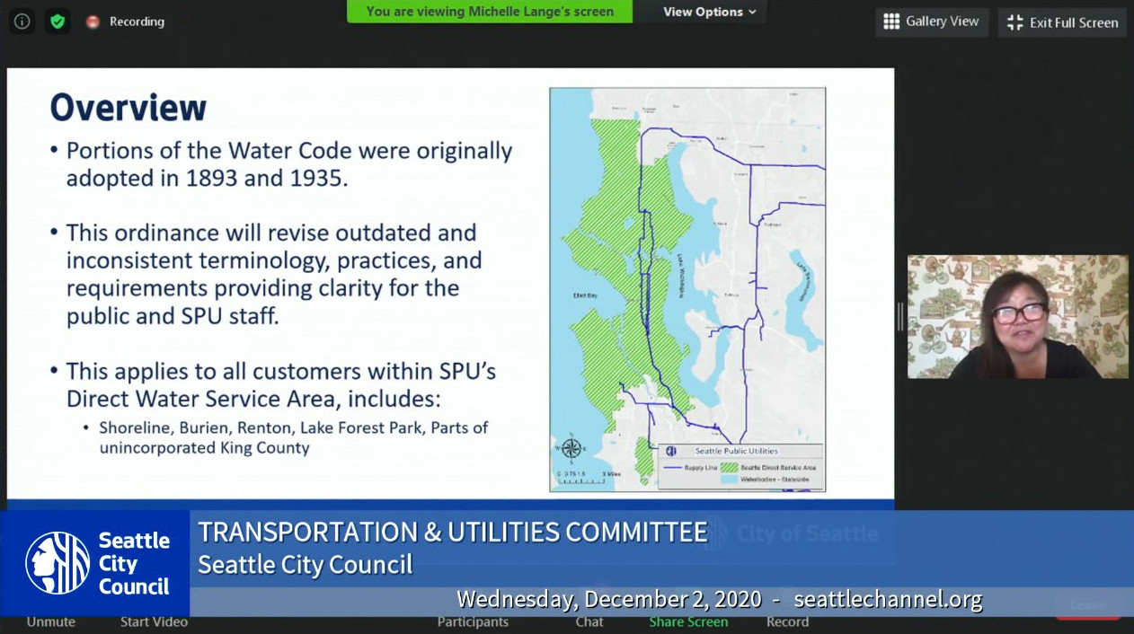 Transportation & Utilities Committee 12/2/20