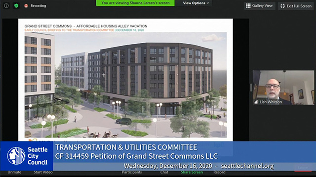 Transportation & Utilities Committee 12/16/20